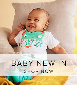 Baby's New In. Shop Now.
